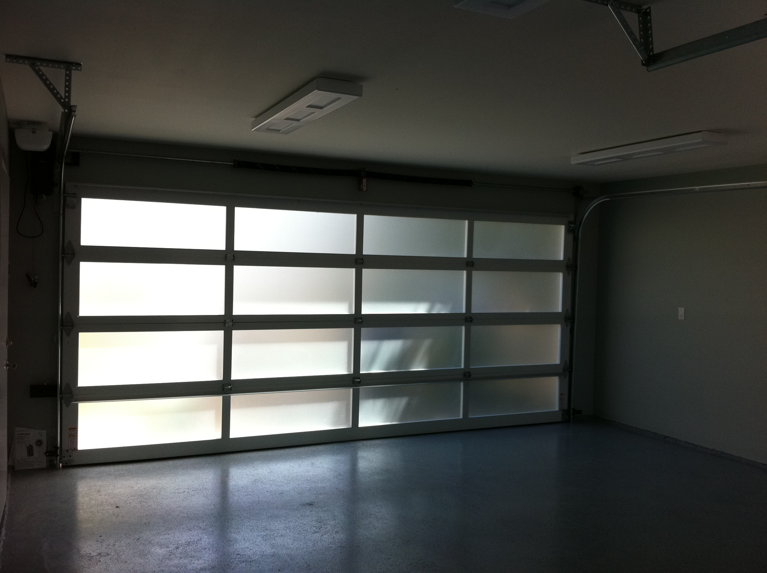 doors up x with glass images roll garage clear measurements design insulated ideas door
