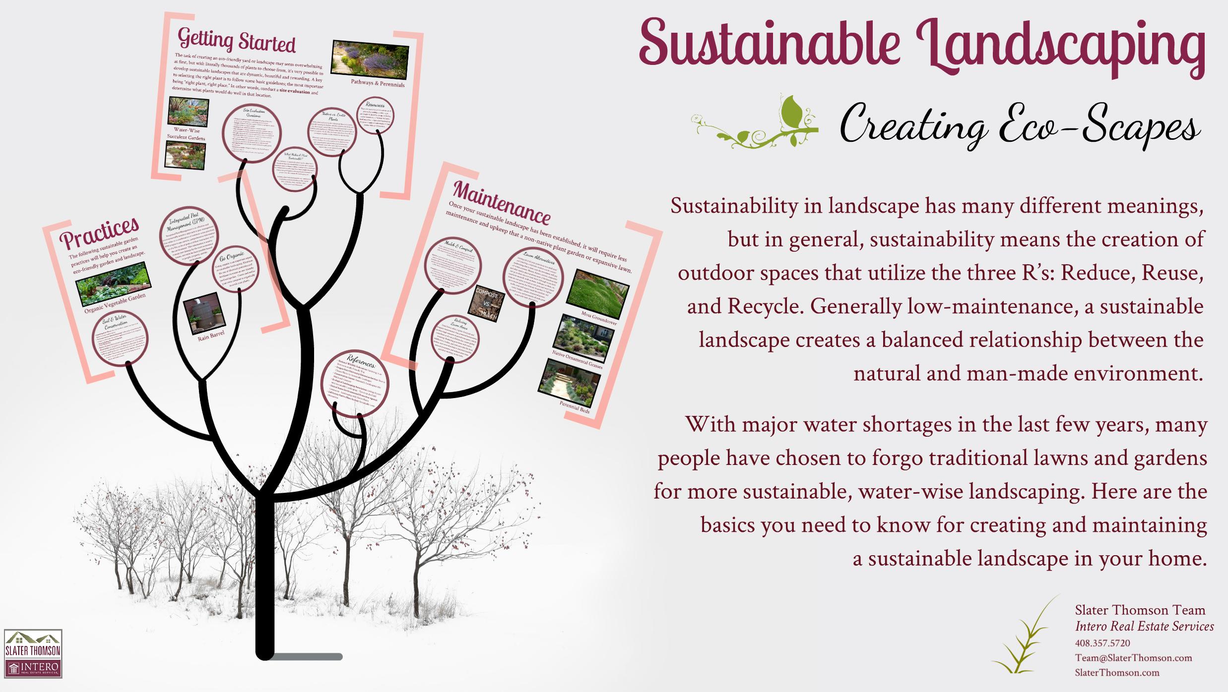 Sustainable Landscaping Prezi